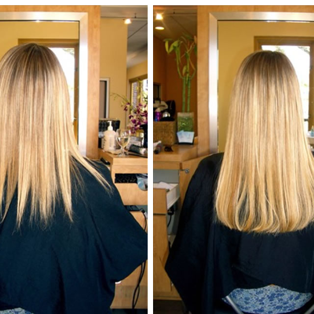 Before And After Socal Hair Extensions